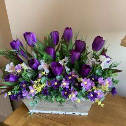 Beautiful tulip floral arrangements