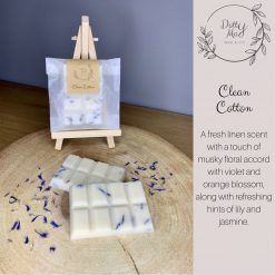 Natural Soy Wax Melts Mini Snap Bar, Highly Fragranced, Various Scents 2