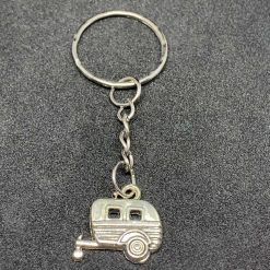 Caravan key ring, bag charm