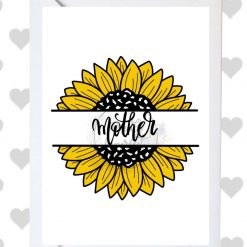 Floral Happy Mother's Day card