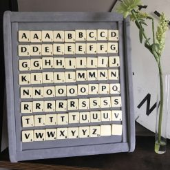 Scrabble Cuff Links