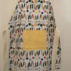 Childs Handmade reversible cotton apron