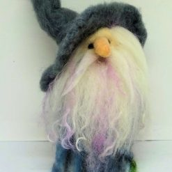 Gus the Gnome,  One of a Kind, UniqueDesigner Needle Felted figure