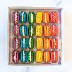 Handmade French Macarons / DiVine Macarons Gift Box / Macaron Treat Box