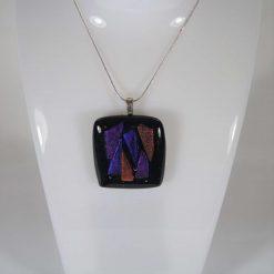 Dichroic Glass Pendant #6010  UK Post Free