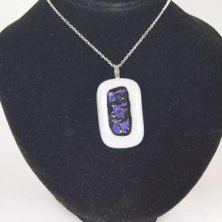 Dichroic Glass Pendant #6015  UK Post Free