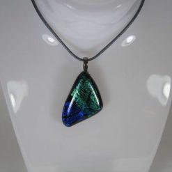 Dichroic Glass Pendant #6020 UK Post Free