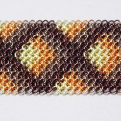 Bargello patterned tie