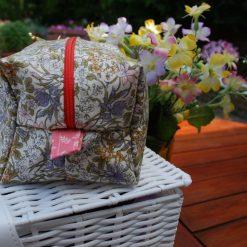 Handmade Make up Bag/Toiletry Bag - Liberty Fabric - 100% Cotton