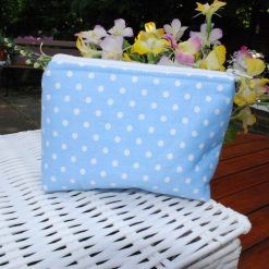 Handmade Make up Bags - Small in a variety of colours - 100% Cotton