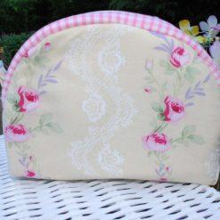 Handmade Make up Bag/Toiletry Bag 100% Cotton