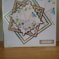 Handcrafted thank you cards – handmade thank you cards – unique handcrafted cards
