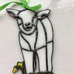 Spring Lamb sun catcher