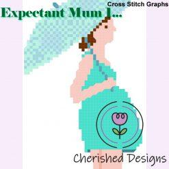 Expectant Mum 1 Cross Stitch