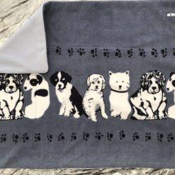 Handmade Fleece Crate Comforter