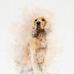 Customised Pet Portraits, Pet Memorial, Pet Paintings, Digital Art