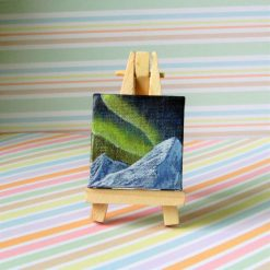 Northern Lights - mini painting