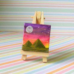 Pyramids - mini painting