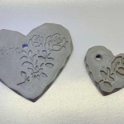 Delicate Heart Shaped Decorations with Ribbon