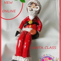 Online Ceramic Santa Class