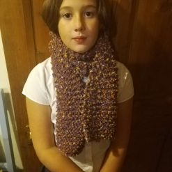 Multi coloured very warm and long adult scarves. 12