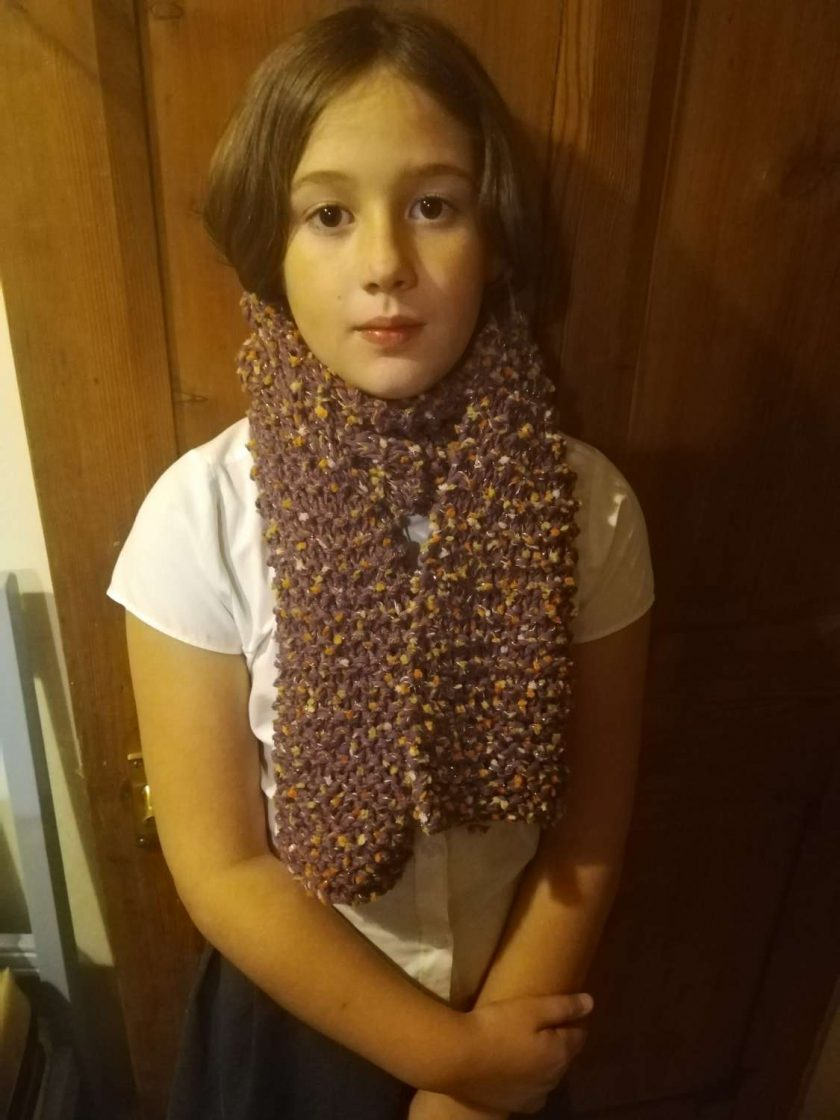 Multi coloured very warm and long adult scarves. 3