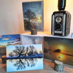 A6 Greetings Cards (Set of 4) Landscape Sunrise
