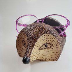 Hedgehog spectacle holder.