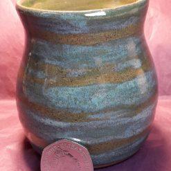 Stripey vase