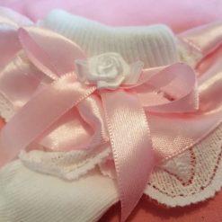 Baby socks frilly lace 0-2.5 newborn socks