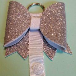 Hair Bow Holder Bow Hanger Silver
