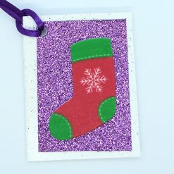 Foam Christmas Gift Tags 10 pack