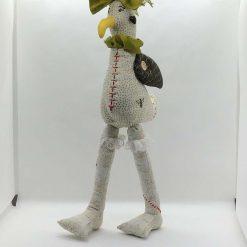 Mavis Seagull,  PricklesandSpike, OOAK, handmade, Doll, Fun, Gift, Keepsake