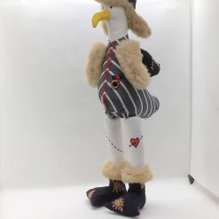 Gusto Brim, Seagull,  PricklesandSpike, OOAK, handmade, Doll, Fun, Gift