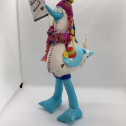 Artic Chill, Seagull,  PricklesandSpike, OOAK, handmade, Doll, Fun, Gift