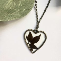 Heart Shaped Leaves Necklace