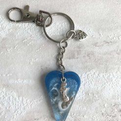 - Seascape Mermaid | Key Ring | Bag Charm