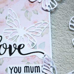Love You Mum Greetings Card 3