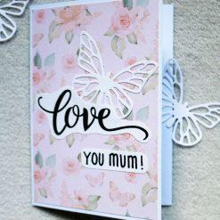 Love You Mum Greetings Card 1