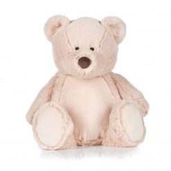 Personalised Teddy Bear 45cm High - Name plus DOB or Similar (MM051)