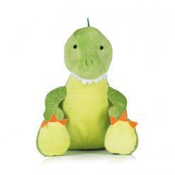 Personalised Dinosaur Teddy Bear 42cm High - Name plus DOB or Similar (MM053)