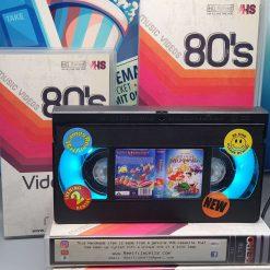The Little Mermaid Retro VHS Lamp