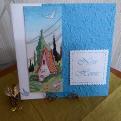 z sold : New Home Card, Blue Bird
