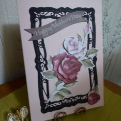 Classic Rose Mothers Day Card