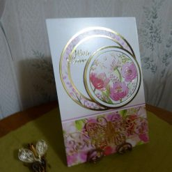 Z: Flowers & Butterfy Any Occasion Card