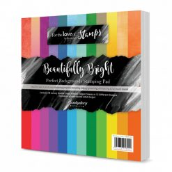 Hunkydory - Perfect Backgrounds Stamping Pad - Beautifully Brights