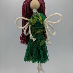 Woodland Fairy Macramé Doll hanging decoration