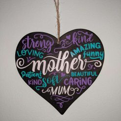 Kind Words Heart Decoration - Mothers Day
