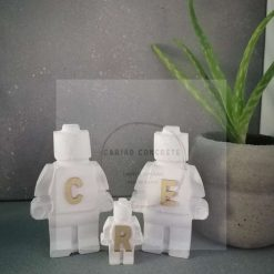 Concrete Personalised Lego figures