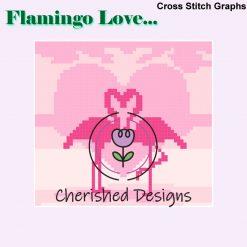 Flamingo Love Cross Stitch Charts
